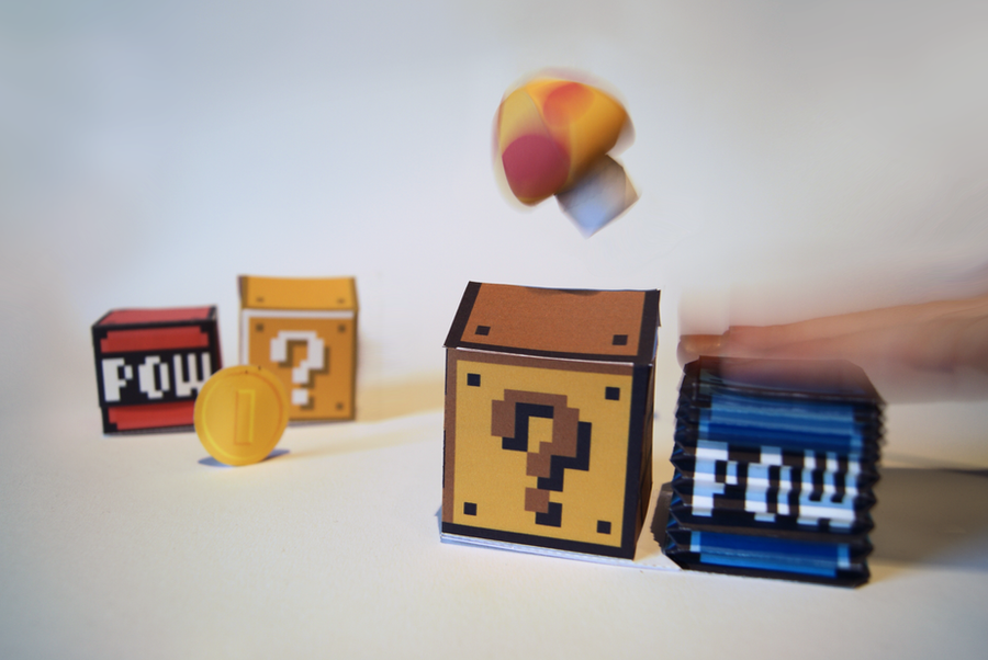 Pneumatic POW-Block Papercraft by kamibox