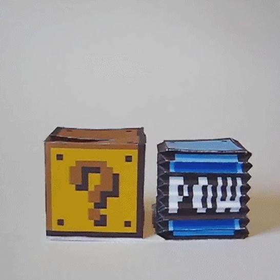 POW-Block Papercraft Preview by kamibox