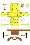 Spongebob Papercraft - Instructions