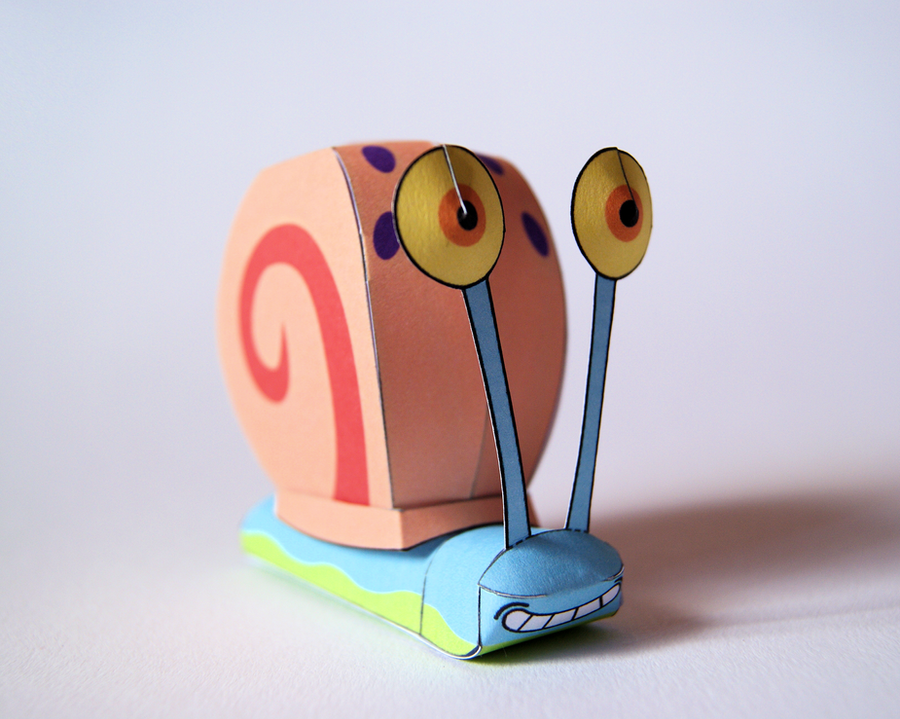 Gary Papercraft by kamibox
