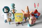 Spongebob and Friends Papercraft