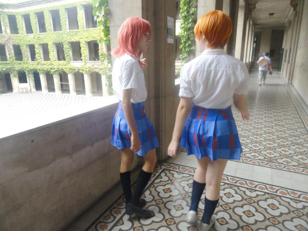 Maki Nishikino and Rin Hoshizora by JulisScarlet