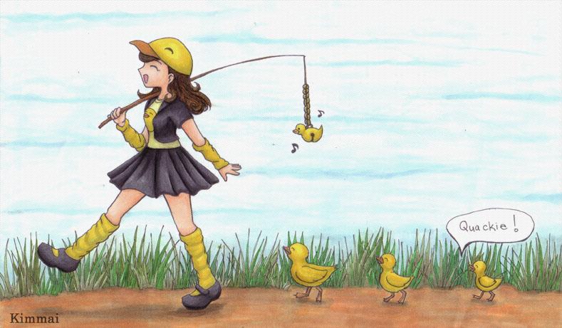 Quackie. Follow Me by XKimmaiX