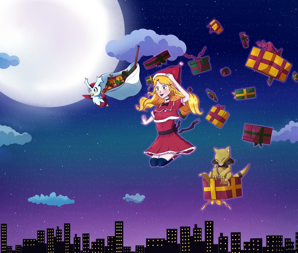 Santa's Helpers by HimiiChan