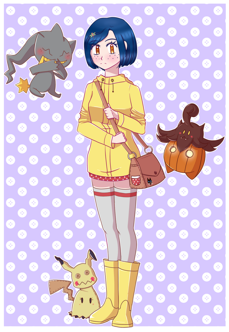 Coraline Trainer by HimiiChan