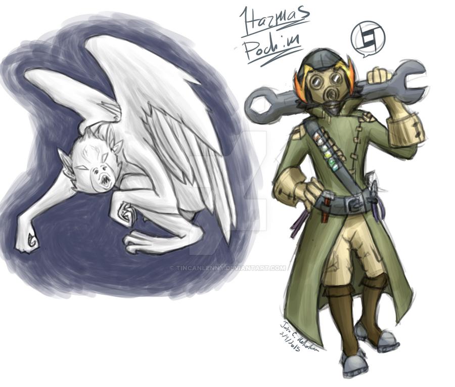 Hazmas and Machim by TinCanLenny