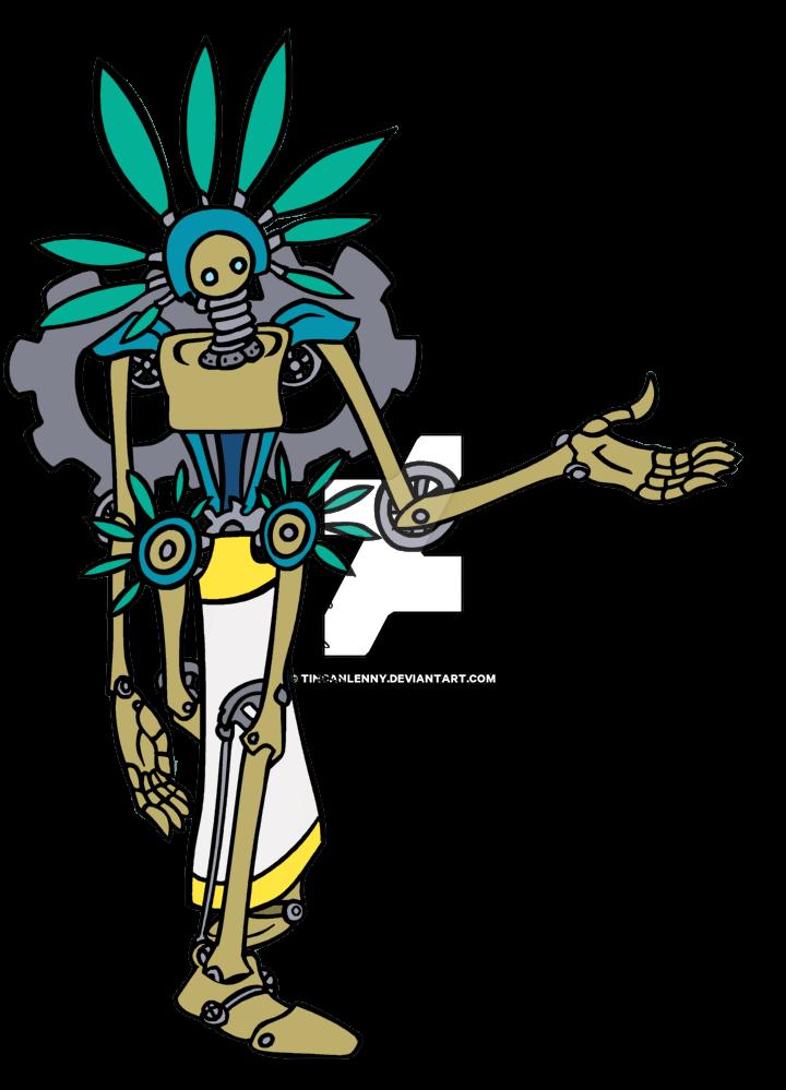 Gear Aztec Design by TinCanLenny
