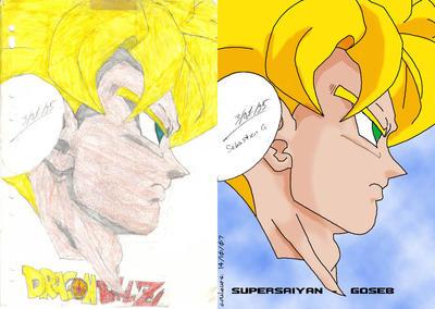 Dessins de Goseb Goku_crayon_et_sur_pc_by_Goseb35