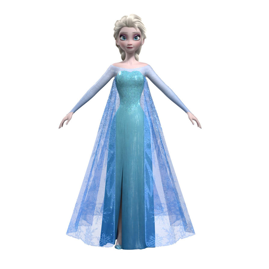Making Of Disney Elsa From Frozen By Avcgi360