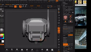 Creating Environment in ZBrush