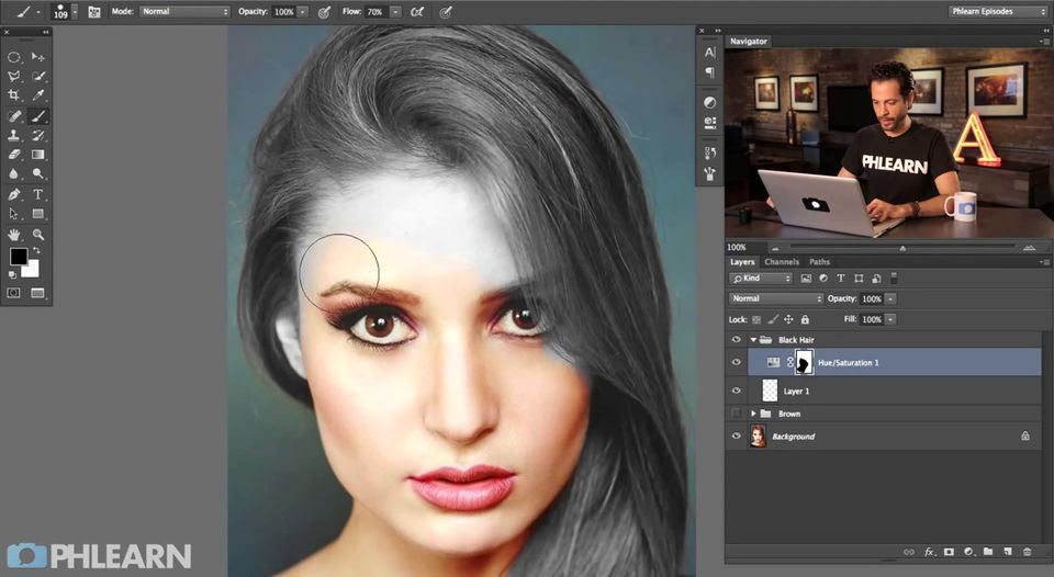 How to change hair color in photoshop by avcgi360 on deviantart how to change hair color in photoshop by avcgi360 ccuart Choice Image