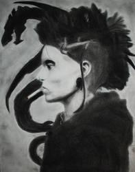 Portrait of Lisbeth Salander