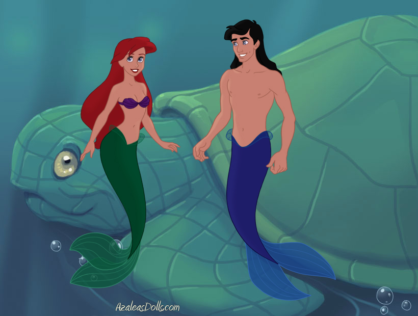 ariel and eric. Ariel and Eric by Siamesetwinsfan  on DeviantArt