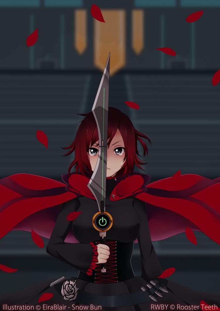 RWBY: Red Warrior by EiraBlair