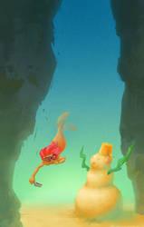 mermaid and the sandman