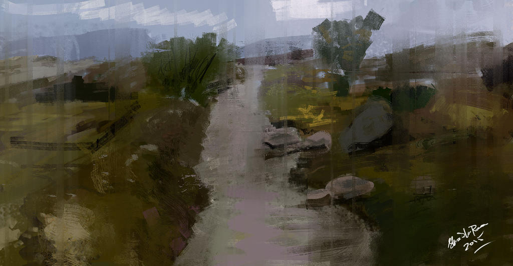 StudMANSEHRA PANO ROAD study 1 HOUR by shahzi00