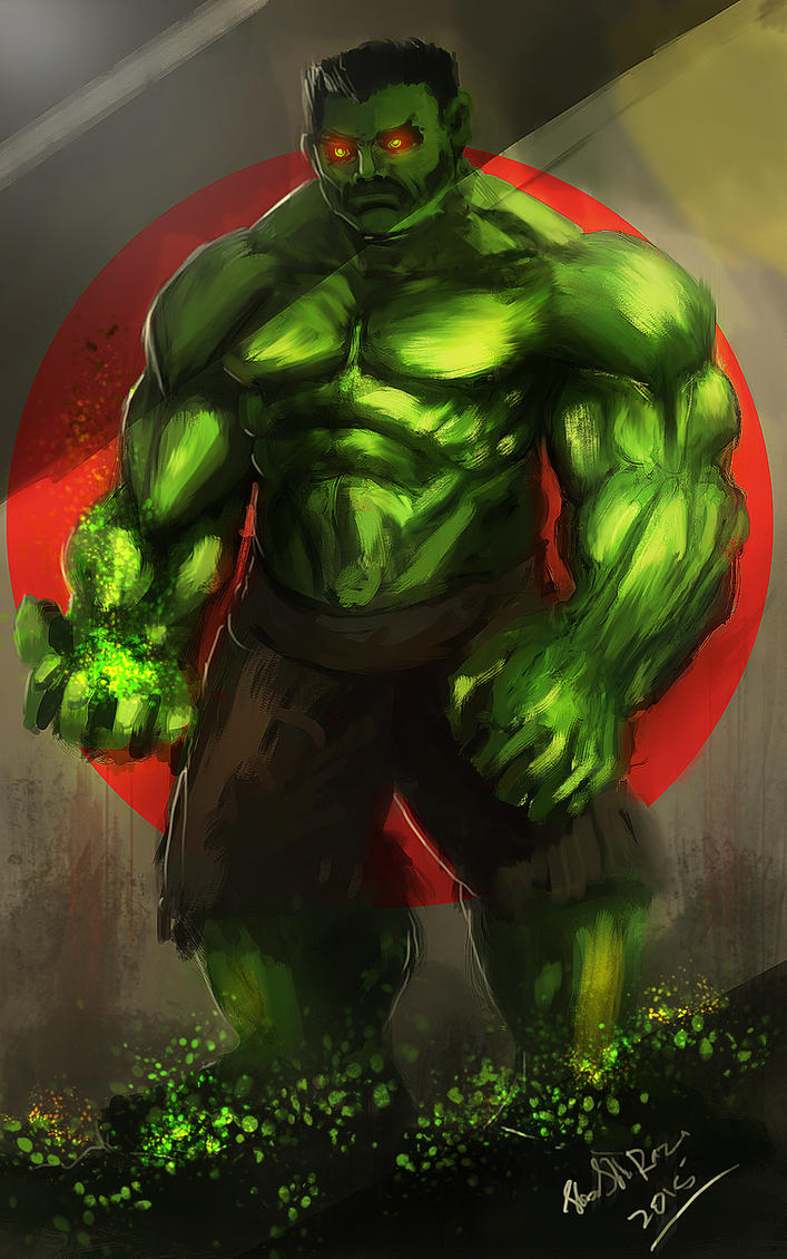 hulk by shahzi00