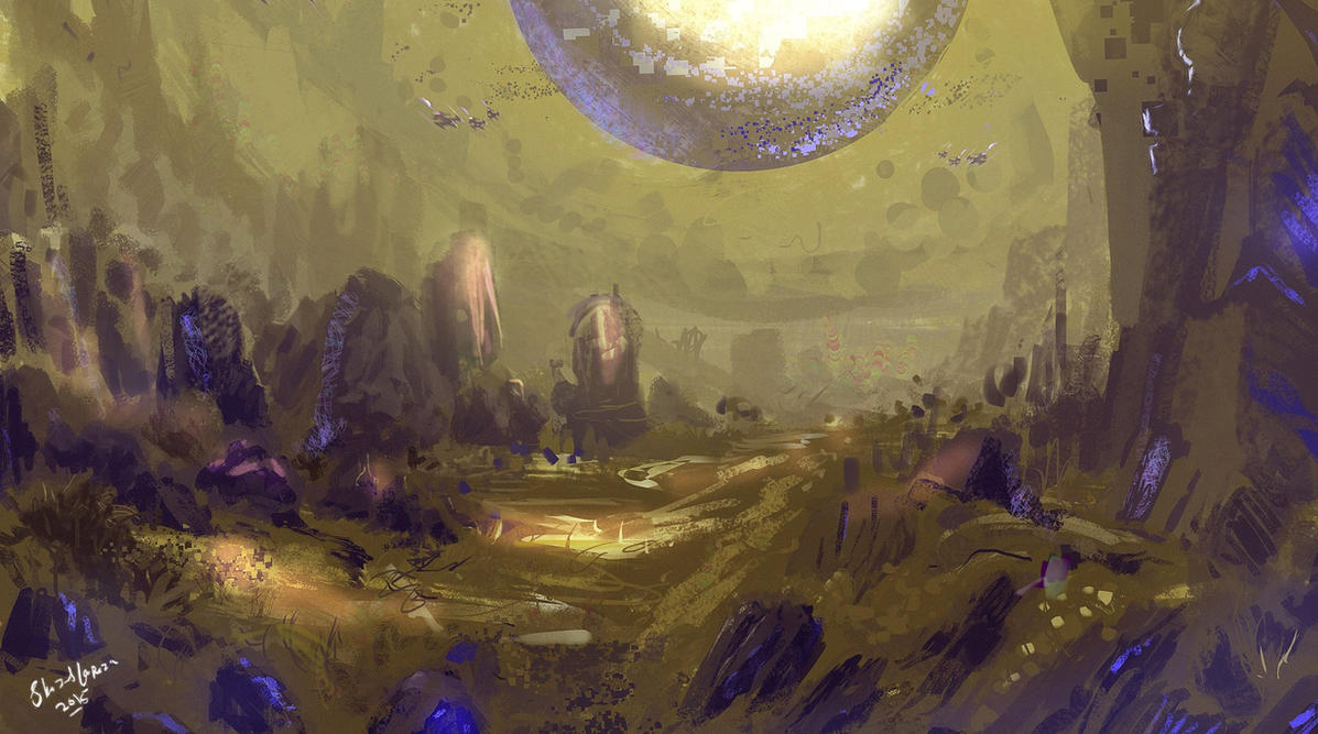 ANOTHER WORLD by shahzi00