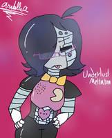 Underlust - Mettaton // Innocent - Anabelle by ZemiQueDAfox