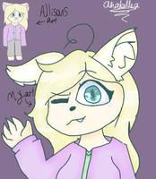 Allison: Hello! - Fanart by ZemiQueDAfox