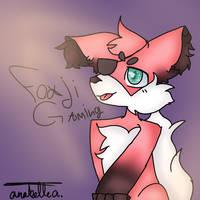 Fan art - Foxji Gaming by ZemiQueDAfox