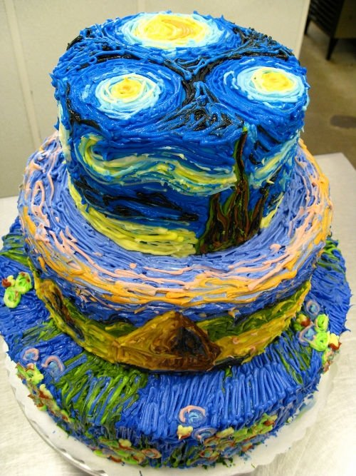 Art of Birthday's cake by nanaenae