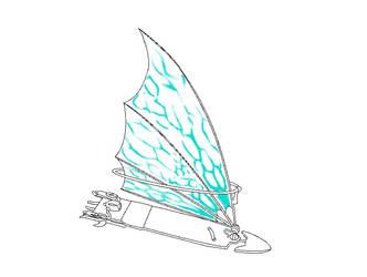 Treasure Planet Solar Surfer Base by Umbreeunix
