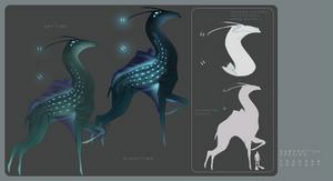 Subnautica Species Concept - Treader