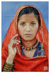 Girl from Pushkar by CamillaMalcus
