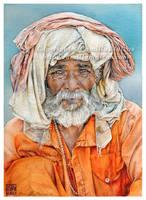 Vendedor de Varanasi by CamillaMalcus
