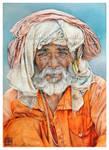 Vendedor de Varanasi