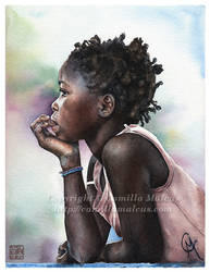 Girl by CamillaMalcus