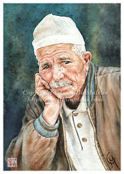 Old Man by CamillaMalcus