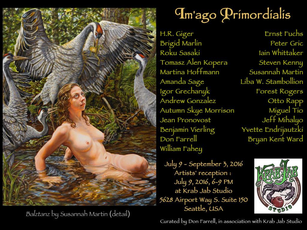 IM'AGO PRIMORDIALIS exhibition, Seattle, July 2016 by donfarrell