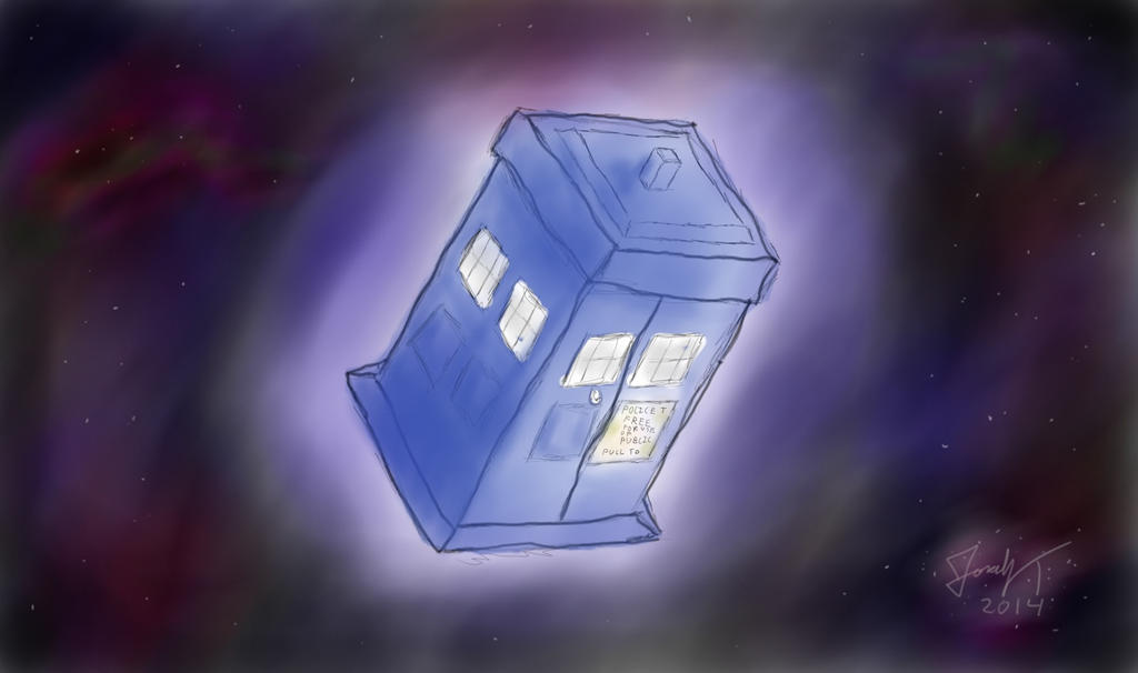 TARDIS In Space by YonaUchiha on DeviantArt