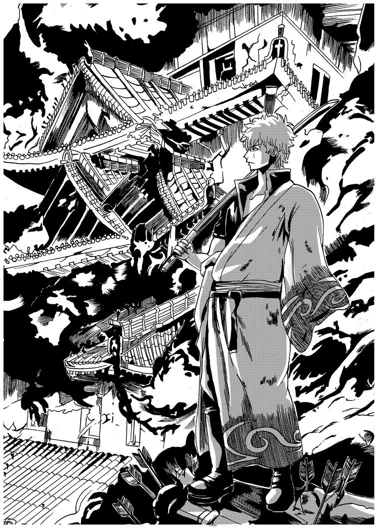 Gintama Chapter  By Saramangaka