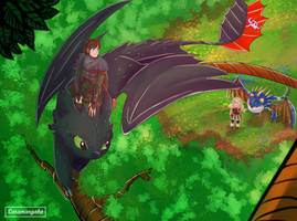 How To Train Your Dragon 2- Let's see the world by SaraMangaka