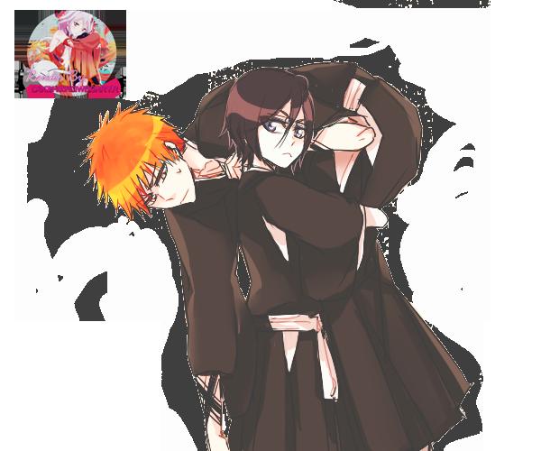 Ichigo And Rukia Baby Ichigo and Rukia Rende...