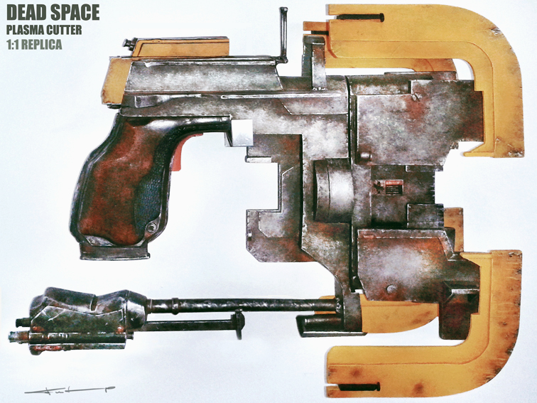 dead space plasma cutter v211 by oldsanta on deviantart