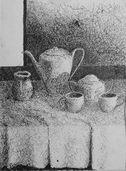 once, there was tea for two