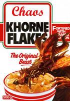 KHORNE Flakes by Knyghtos