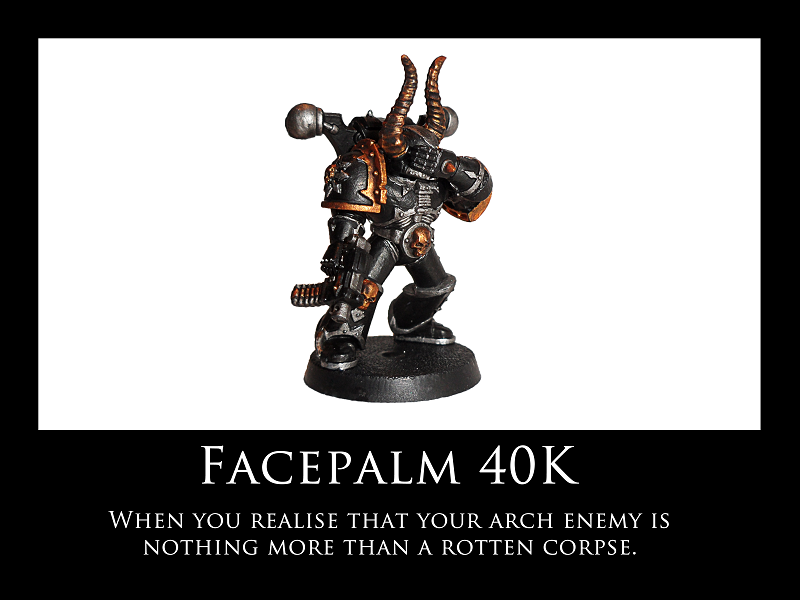 Facepalm 40K by Knyghtos