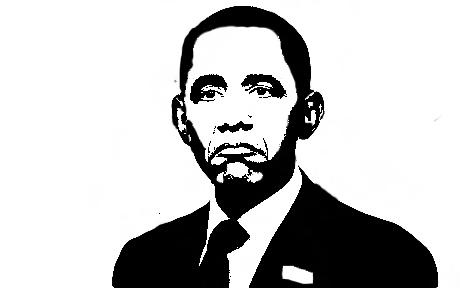 gallery obama stencil dope