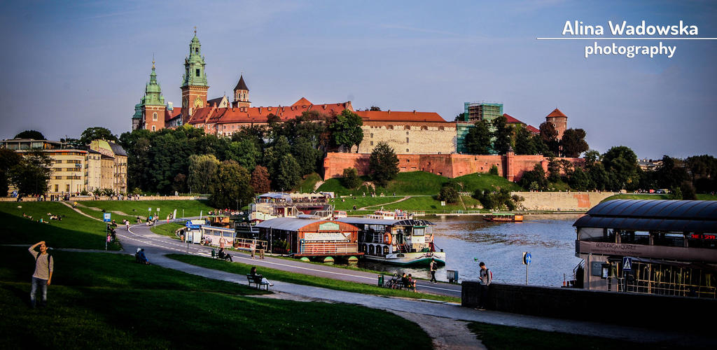Look at the Wawel Castle by LynnsMind