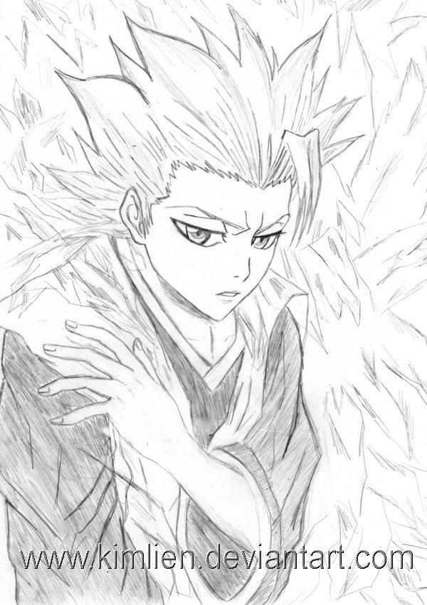 Bleach Toshiro Hitsugaya By Kimlien
