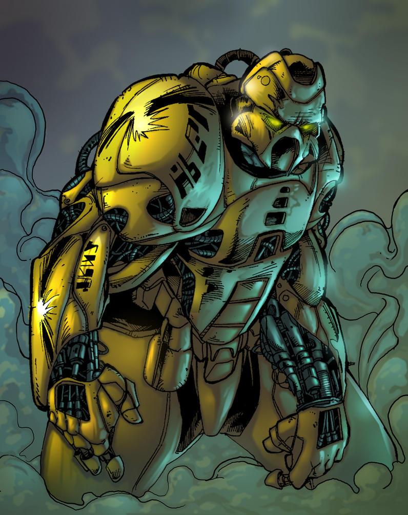 RoboGoon by dendorrity