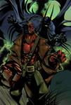 Sandoval Hellboy Colored