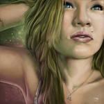 Ashley--Elizabeth Portrait in Color