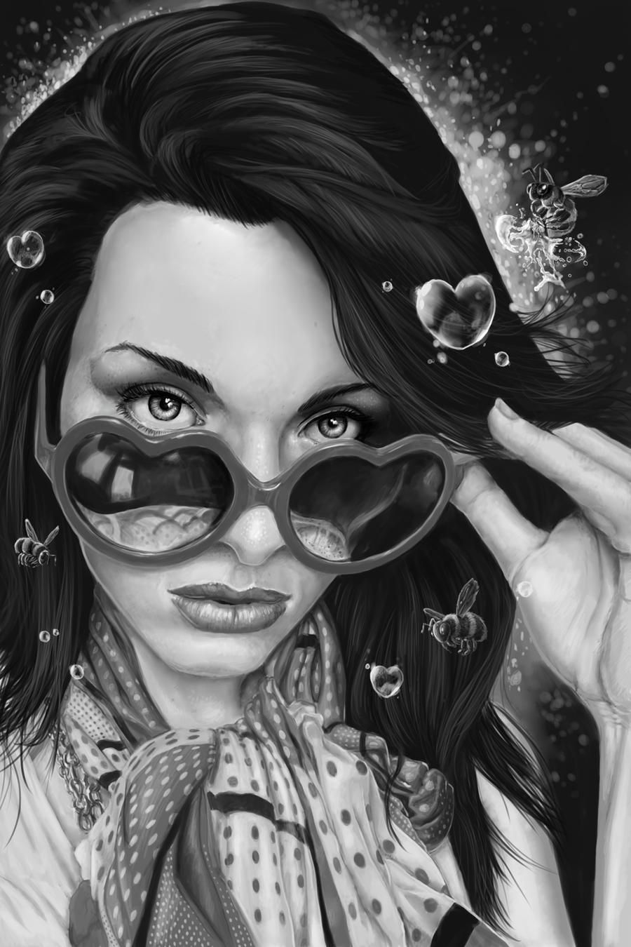 Jessica Zickefoose AKA Ziki37 Portrait by dendorrity