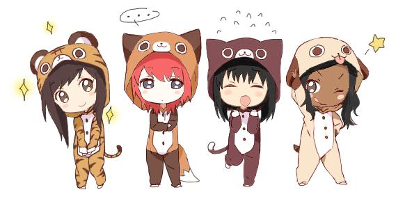 Chibi Friends D By Kokoroyukiyume On Deviantart
